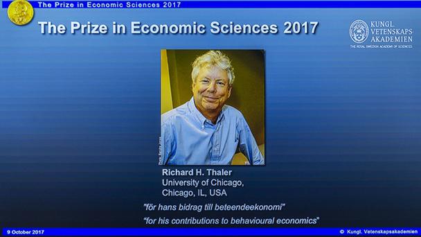 """谁都不是""""明白人""""——从边缘走向主流的诺贝尔经济学奖得主理查德·塞勒"""