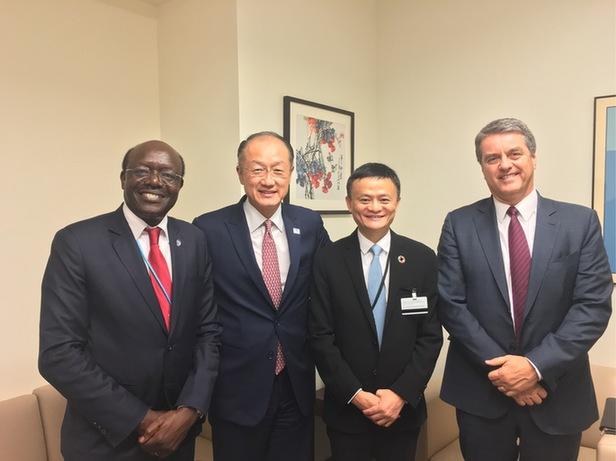 馬雲受邀擔任聯合國特別顧問 推動中小企業全球化
