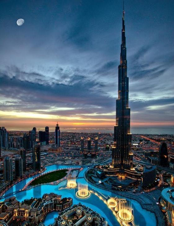 迪拜高清风景手机壁纸