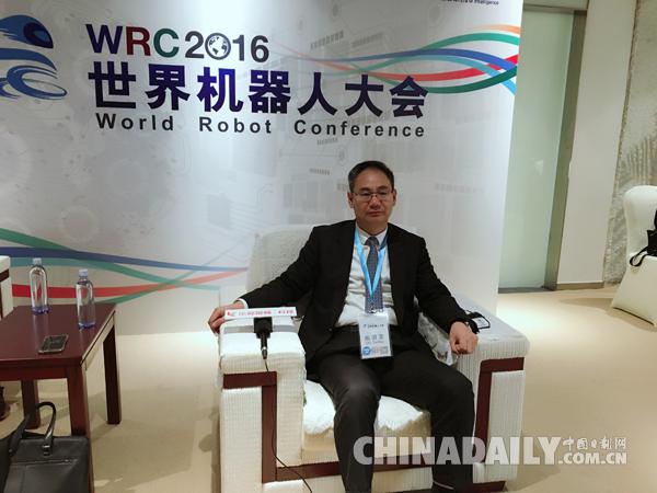 新松总裁曲道奎:全球机器人正处在洗牌的转折点