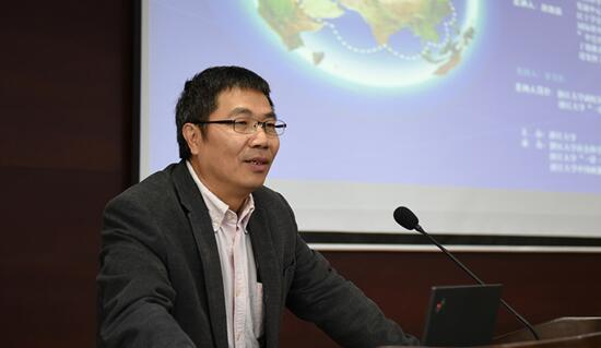 """赵白鸽:""""一带一路""""对创造全球经济增长新动力有划时代意义"""