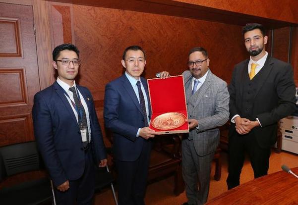 印度国家律协候任主席Prashant Kumar访问汉能